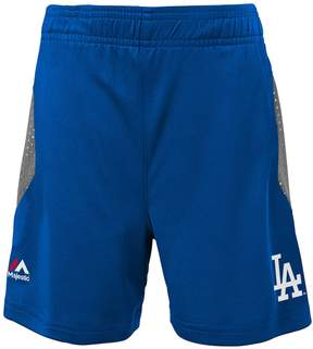 Majestic Boys 4-7 Los Angeles Dodgers Legacy Tee & Shorts Set