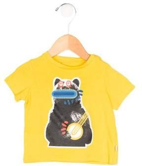 Stella McCartney Boys' Bear Print Short Sleeve Shirt