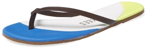 TKEES Women's Compacts Leather Flip Flop