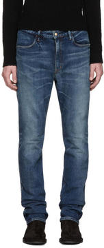 Nonnative Indigo Tapered Dweller Jeans