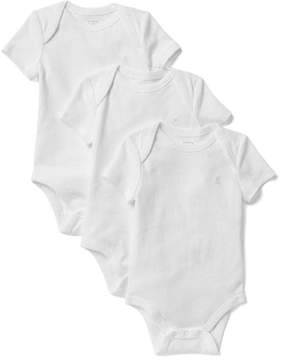 Gap Favorite solid short sleeve bodysuit (3-pack)