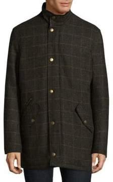 Barbour Tweed High-Neck Jacket