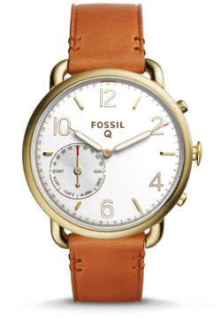 Fossil Hybrid Smartwatch - Q Tailor Brown Leather