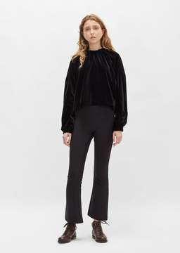 Dusan Dušan Twill Flared Pant Black Size: X-Small