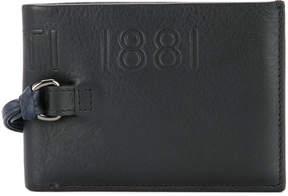 Cerruti logo embossed wallet