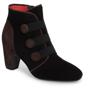 Pas De Rouge Women's Button Detail Bootie
