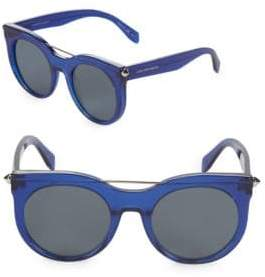 Alexander McQueen 52MM Aviator Sunglasses