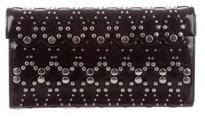 Alaia Studded Laser Cut Clutch