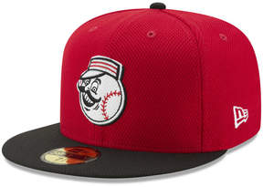 New Era Cincinnati Reds Batting Practice Diamond Era 59FIFTY Cap