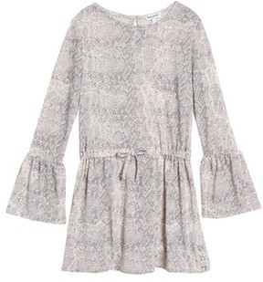 Splendid Girl's Python Print Loose Knit Dress