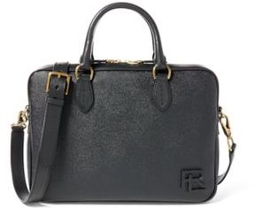Ralph Lauren Coated Canvas Briefcase Black One Size