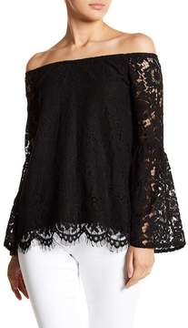 Chaser Bell Sleeve Lace Top