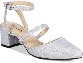 Rialto Marigold Block-Heel Pumps Women's Shoes