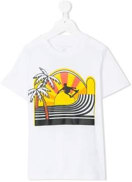 Stella McCartney skateboard print T-shirt