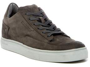 Blackstone Leather Low Lace-Up Sneaker