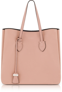 Coccinelle Celene Peony and Black Leather Tote Bag