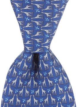 Daniel Cremieux Giraffe Print Traditional Silk Tie