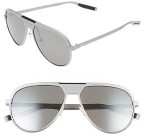 Christian Dior Men's 59Mm Aviator Sunglasses - Matte Palladium