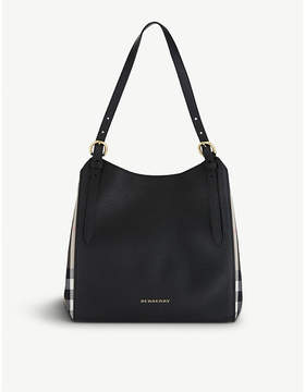 Burberry Canterbury leather tote - BLACK - STYLE