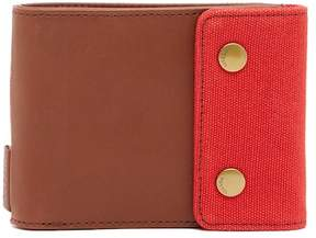 Fossil Rex Snap Billfold Leather Wallet