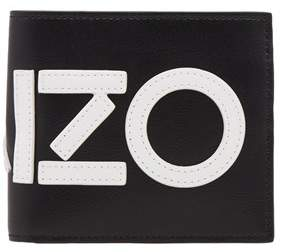 Kenzo Men's Black Leather Wallet.