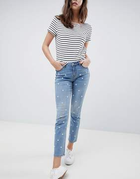 Esprit Daisy Embroidered Jean