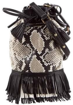 Isabel Marant Leather Fringe Shoulder Bag