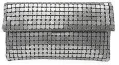 Adrianna Papell Convertible Mesh Clutch
