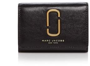Marc Jacobs Double J Multi Leather Wallet - BLACK/GOLD - STYLE