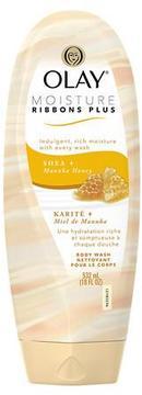 Olay Moisture Ribbon Plus Moisturizing Body Wash Shea + Manuka Honey