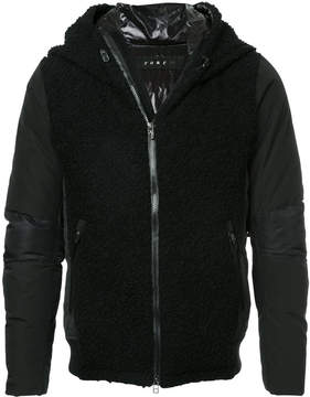 Roar textured front jacket