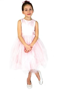 Us Angels Toddler Girl's Fit & Flare Dress