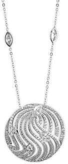 Adriana Orsini Lush Crystal Pendant Necklace