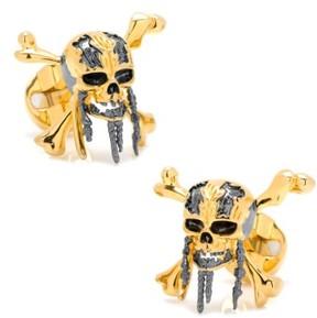 Cufflinks Inc. Men's Cufflinks, Inc. Pirates 3D Skull Cuff Links