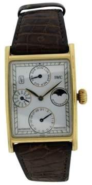 IWC Grande 18K Yellow Gold 33mm Mens Watch