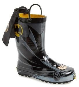 Western Chief Boy's 'Batman Everlasting' Waterproof Rain Boot