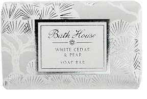 Bath House White Cedar + Pear Soap Bar by 100g Soap Bar)