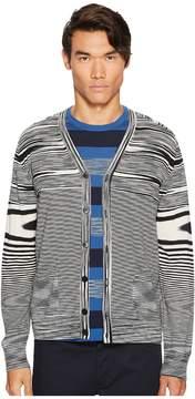 Missoni Fiammata Unito Knit Cardigan Men's Sweater