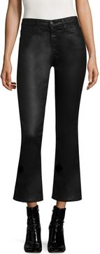 AG Adriano Goldschmied Women's Jodi Crop Leatherette Jeans