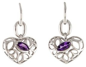 Di Modolo Ricamo Amethyst Drop Earrings