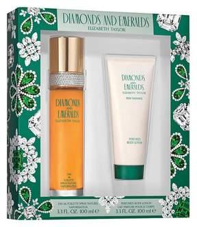Elizabeth Taylor Emeralds & Diamonds by Women's Fragrance Gift Set - 2pc