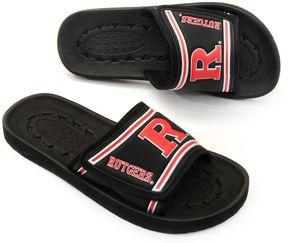 NCAA Adult Rutgers Scarlet Knights Slide Sandals