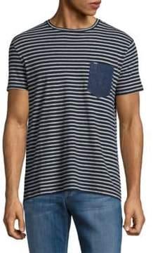 Calvin Klein Jeans Striped Pocket Tee