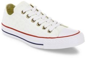 Converse Chuck Taylor All-Star Star-Embroidered Low-Top Sneakers