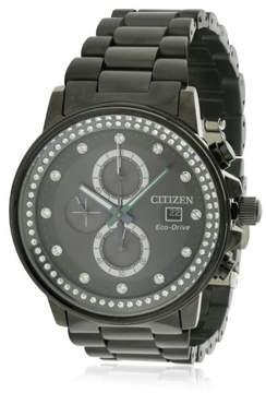 Citizen Eco-Drive FB3005-55E Black Dial Watch, Womens