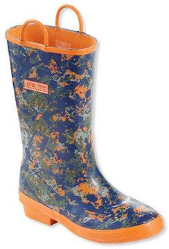 L.L. Bean Puddle Stompers Rain Boots, Print
