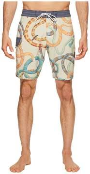 VISSLA Da Bush Four-Way Stretch Boardshorts 18.5 Men's Swimwear