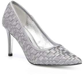 Adrianna Papell Hastings Woven Satin Dress Pumps