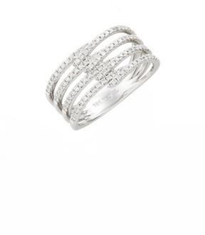 Bony Levy Women's Kiera Four-Row Diamond Ring (Nordstrom Exclusive)