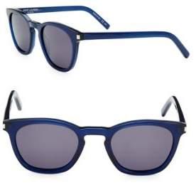 Saint Laurent Tinted 49MM Wayfarer Sunglasses